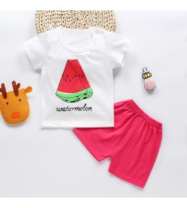 "Set tricou si pantaloni scurti ""Cute Melon"""