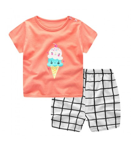 "Tricou si pantaloni scurti ""icecream"""