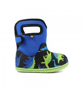 Baby Bogs Dino Electric Blue