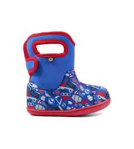 Baby Bogs Constuctions Blue Multi