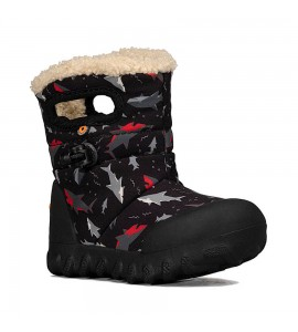 B-Moc Kids Snow Sharks Black Multi