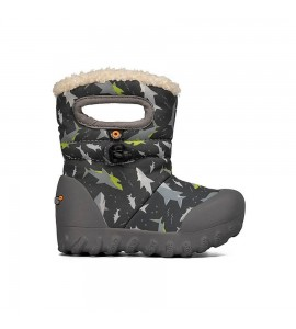 B-Moc Kids Snow Sharks Dark Gray Multi