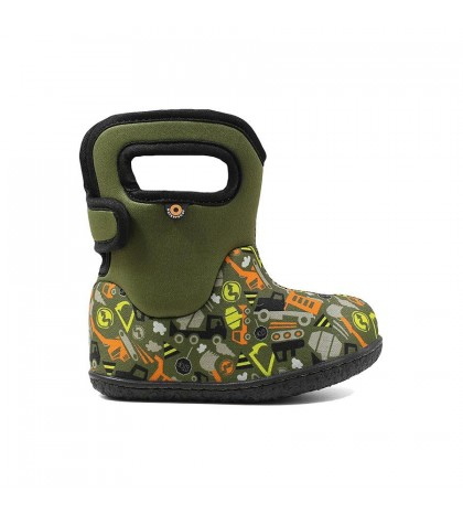 Baby Bogs Constuctions Green Multi