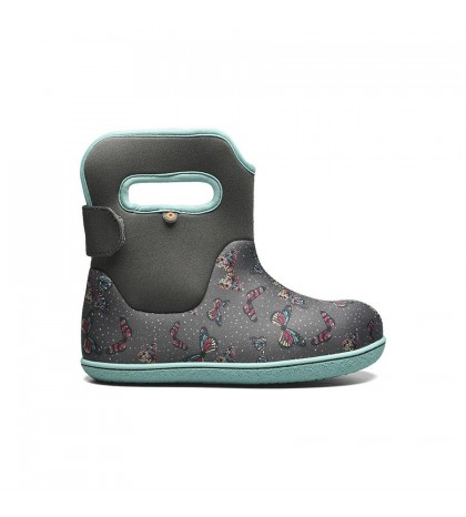 Baby Bogs Youngster Youngster Butterfly Dark Gray Multi