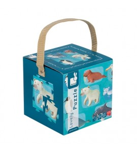 Puzzle Animale polare - Janod