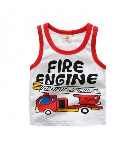 "Maiou din bumbac ""Cool Fire Engine"""