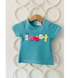 "Tricou ""blue sweet"""
